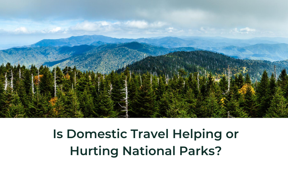 Is Domestic Travel Helping or Harming National Parks?
